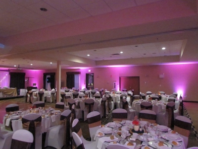 LED Uplighting and Unique Special Effects in Halifax, Nova Scotia, DJ Lighting in Nova Scotia