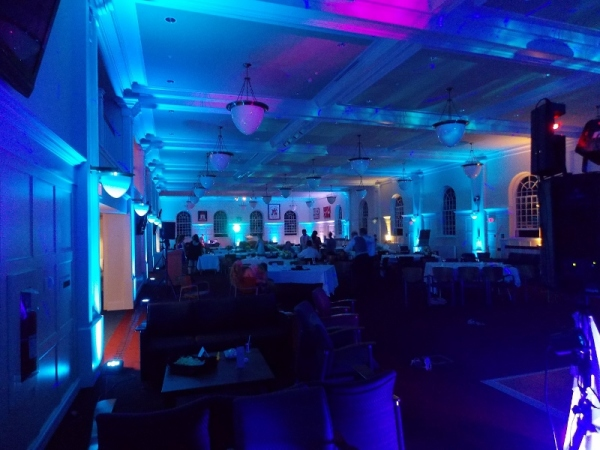 LED Uplighting for Staff Party, Banquets and Galas in Nova Scotia