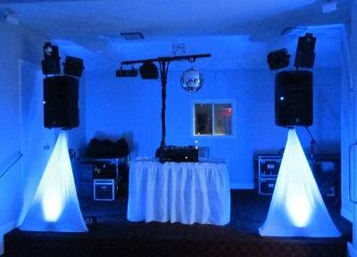 Professional DJ in Nova Scotia, Halifax for New Years Eve Party - Equipment Setup