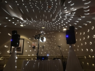 Professional DJ in Halifax, Nova Scotia for New Years Eve - Mirror Ball Effect