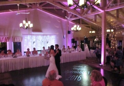 Bride & Groom 1st Waltz at Halifax Casino