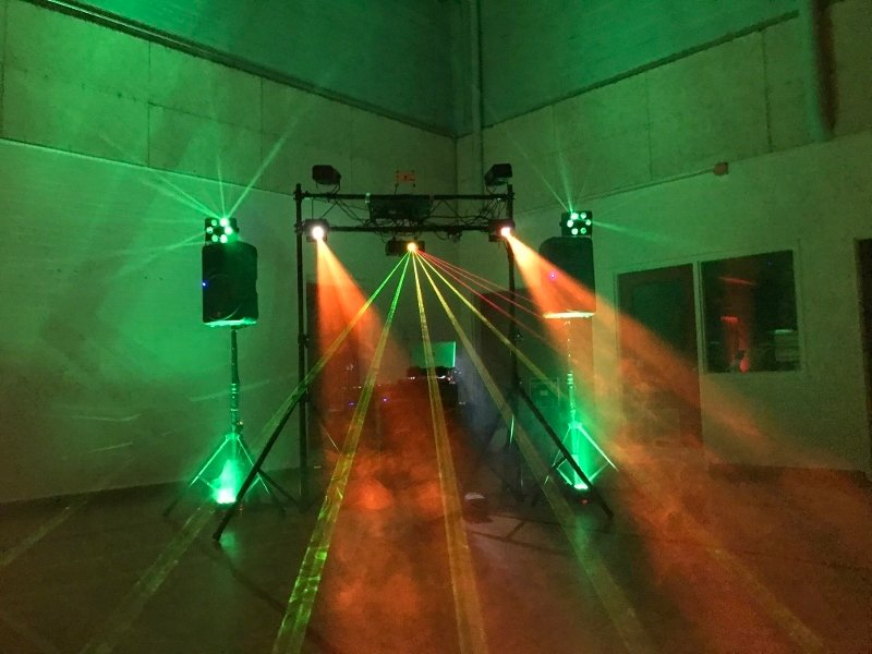 School Dances in Nova Scotia, Halifax - LED & Laser Light Show